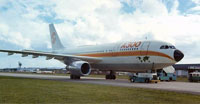 Airbus A300-B2, Auckland, New Zealand. 23 May 1974
